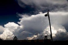Onweer Clouds1 Stock Afbeelding