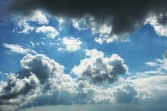 Onweer clouds1 Royalty-vrije Stock Fotografie