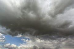 Onweer cloudscape Royalty-vrije Stock Afbeeldingen
