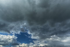 Onweer cloudscape Stock Foto's