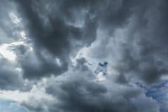 Onweer cloudscape Royalty-vrije Stock Afbeelding
