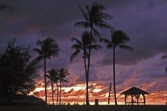 Onweer in paradijs Royalty-vrije Stock Afbeelding