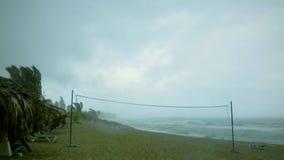 Onweer in Paradijs stock afbeeldingen