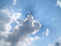 Onweer-wolk, stock afbeelding
