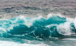 Onweersgolf in de Middellandse Zee stock afbeelding