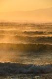 Onweerswind Stock Foto