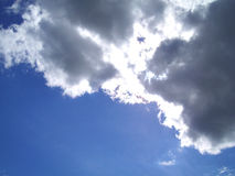 Onweerswolken royalty-vrije stock foto