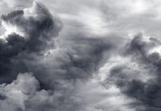 Onweerswolken Royalty-vrije Stock Fotografie