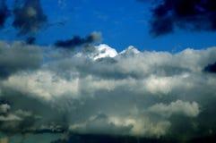 Onweerswolken Royalty-vrije Stock Foto's