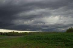 Onweerswolken Stock Foto
