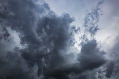 Onweerswolken in centraal Florida royalty-vrije stock afbeelding