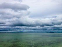 Onweerswolken het verzamelen zich Royalty-vrije Stock Afbeelding