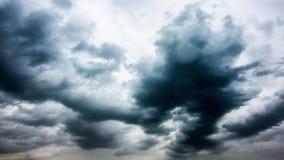 Onweerswolken, tijd-tijdspanne stock video