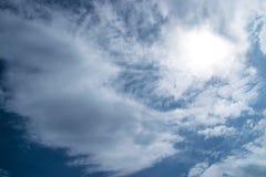 Onweerswolken vóór regen royalty-vrije stock afbeeldingen