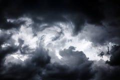 Onweerswolkenachtergrond Royalty-vrije Stock Fotografie