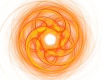 Onwerkelijke zon Stock Foto's