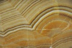 Onyx naturale della pietra giallo con le belle macchie fotografia stock libera da diritti