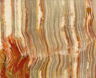 Onyx (agate) cut texture Stock Photos