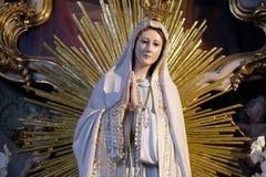 Onze dame van Fatima royalty-vrije stock afbeelding