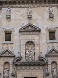 Onze Dame van Grace Church, een deel van het Trinitarian klooster, AlmerÃa, Spanje stock afbeelding