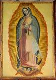 Onze Dame van Guadalupe, St Patrick ` s Kathedraal Stock Afbeeldingen