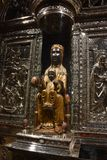 Onze Dame van Montserrat stock fotografie