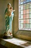 Onze Dame van Vrede - Heilige Maagdelijke Mary stock afbeeldingen
