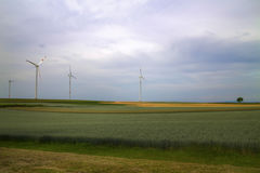 Onze droom van groene toekomst Stock Foto's