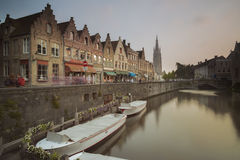 Onze-Lieve-Vrouw Brugge Стоковые Изображения
