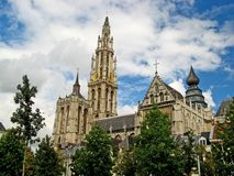 Onze Lieve Vrouwekathedraal 02 Royalty Free Stock Photography