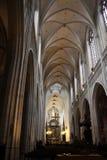 Onze Lieve Vrouwekathedraal in Antwerp Stock Photo