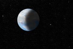 Onze mooie, breekbare aarde zoals die van ruimte wordt bekeken royalty-vrije stock fotografie