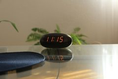 Onze oÂ'clock, hora para imagens de stock