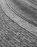 Onzichtbare Tram Stock Foto