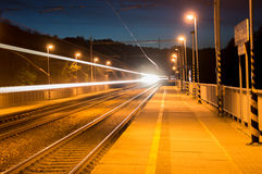 Onzichtbare Trein royalty-vrije stock foto