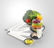 Ood e condimento in cucchiai Immagini Stock Libere da Diritti
