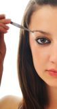Oog - brow schoonheidsbehandeling stock afbeelding