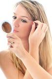 Oog - brow schoonheidsbehandeling stock afbeeldingen