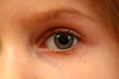 Oog van een kind Stock Foto