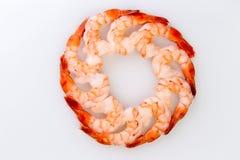 Oog van Tiger Shrimps Stock Afbeeldingen