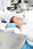 Oogchirurgie royalty-vrije stock afbeelding