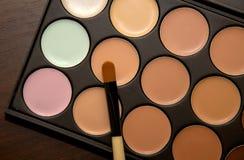 Oogschaduw voor make-up Royalty-vrije Stock Foto's