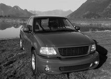 oogst vrachtwagen royalty-vrije stock afbeeldingen