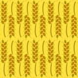 Oogstachtergrond voor de Herfst Naadloos patroon Stock Afbeelding