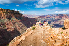 Ooh aah point, Grand Canyon, US Stock Photography