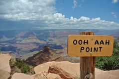Ooh Aah Point, Grand Canyon National Park, Arizona royalty free stock photos