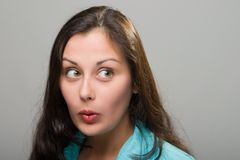 Ooh! Shock! Surprise! for Text Royalty Free Stock Photo
