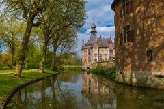 Ooidonkkasteel in België stock fotografie