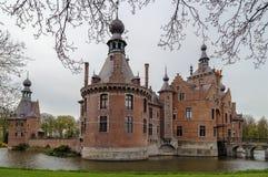 Ooidonkkasteel, België royalty-vrije stock foto's