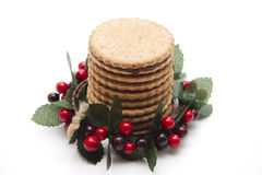 Ookies in the wreath Royalty Free Stock Photography